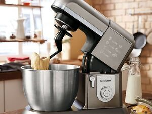 New silvercrest 1300w professional kitchen machine food - Silvercrest kitchen tools opiniones ...