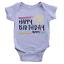 Personalised Stars Happy Birthday Mummy Babygrow Custom Name Love Gift Present