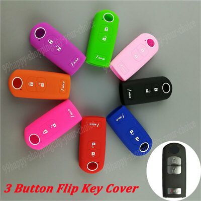 Silicone Cover fit for HONDA Accord Odyssey CR-V Civic Smart Key Fob Hollowed BK
