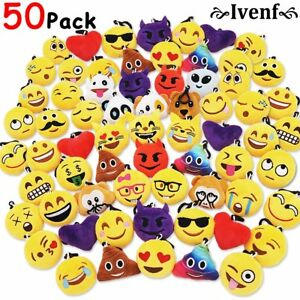 Image Is Loading Ivenf Pack Of 50 5cm 2 034 Emoji