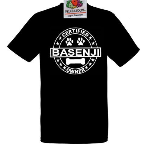 T Shirt Basenji Owner