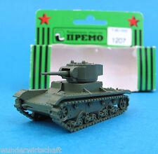 Premo Minitanks H0 1207 PANZER T-26 1933 WWII Rote Armee HO 1:87 OVP SU Roco