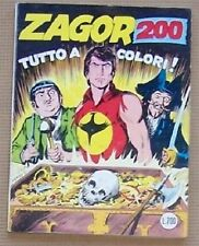 ZAGOR 200 A COLORI Zenith Gigante n° 251 (Bonelli 1982)