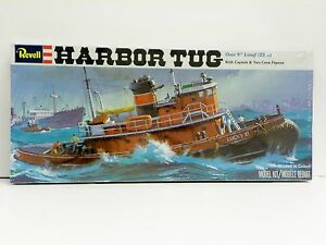 "REVELL U/A ""HARBOR TUG"" MODEL KIT"