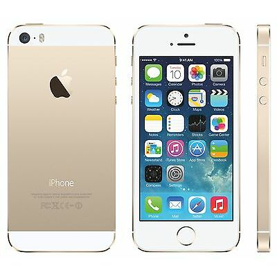 Apple iPhone 5s 16GB Gold Imported
