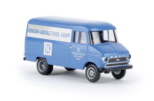 Konsum-Anstalt Friedrich Krupp Neu Brekina 35615-1//87 Opel Blitz Kasten A