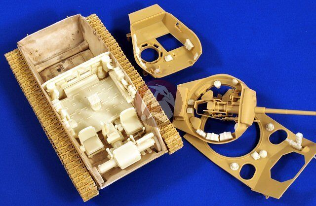 Verlinden 1 35 M24 Chaffee Tank Interior Detail Set (for Bronco) [Resin] 2735