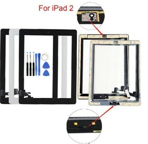 Screen Glass Digitizer replacement for iPad 2 A1395 A1397 A1396 with tools