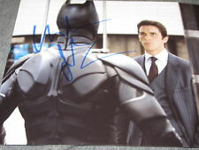 CHRISTIAN BALE SIGNED AUTOGRAPH 8x10 PHOTO DARK KNIGHT RISES PROMO RARE COA F