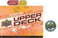 20-21 UD SERIES 1 HOCKEY FACTORY SEALED HOBBY BOX PRE-SELL *CANADA SHIP ONLY*
