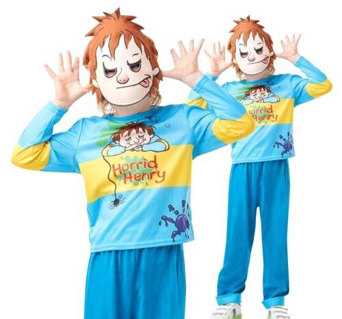 Bambini Ragazzi Con Licenza orribili Enrico World Libro Settimana Costume Età 5-12 anni