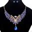 Fashion-Elegant-Women-Rhinestone-Crystal-Choker-Bib-Statement-Pendant-Necklace thumbnail 49