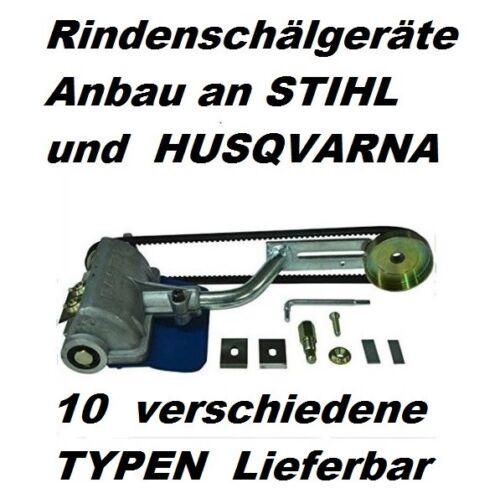 Entrindungsgerät Anbau an Husqvarna 545 550 560 562 für Kettensäge Schäleisen