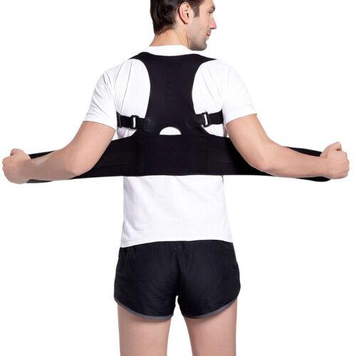 Corrector Scoliosis  Shoulder Brace Belt Corrects Support Back#