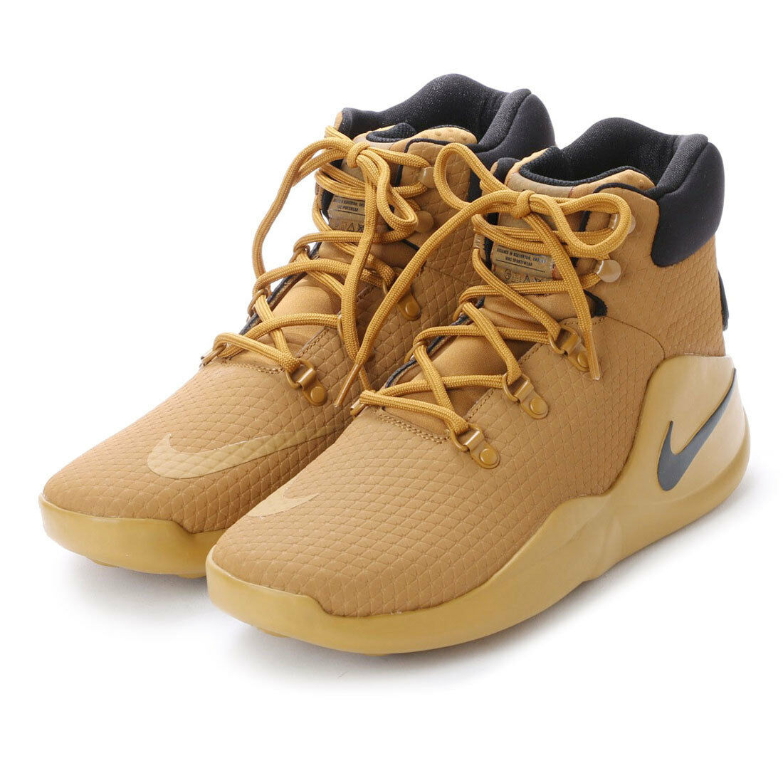 The most popular shoes for men and women New Nike Sizuno AA0548-700 Wheat Black Basketball Shoes Men