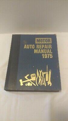 Hot Sale 1975 Motor Auto Repair Manual 38th Edition 1st Printing Hardcover