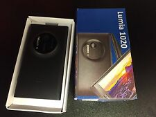 Nokia Lumia 1020 - 32GB - Matte Black At&t Only With Extras. Excellent Cosmetic