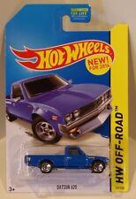 1972 Datsun 620 Pickup Hot Wheels 2015 HW Off-Road KMART BLUE VHTF