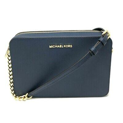 Michael Kors Jet Set Item Large East West Crossbody Chain Handbag Clutch $248
