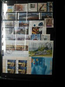 lot-sellos-Briefmarken-stamps-BRD-Bund-Deutschland-Alemania