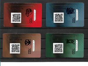 Osterreich-2020-Crypto-Stamp-2-0-Komplette-Serie-in-Schwarz