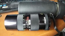 CHINON M42 SCREW  MOUNT 85-210 ZOOM LENS EXCELLENT CASED