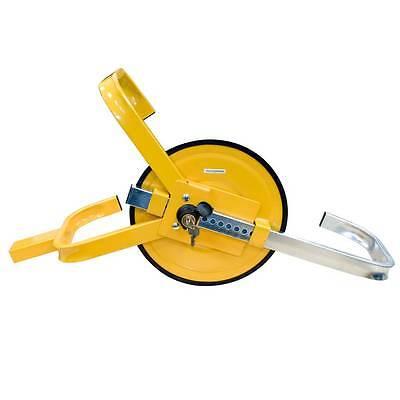 Streetwize SWWL Wheel Clamps Yellow Full Face