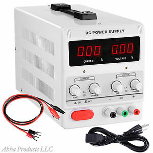 Precision 30v 5a Variable Dc Dual Digital Power Supply