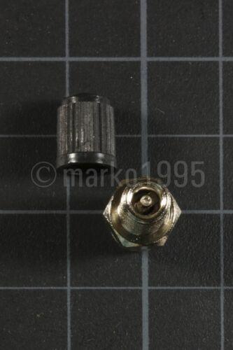 """LOT of 100 1//8/"""" NPT Nickel Plated Brass Air Compressor Tank Fill Valve Schrader"""