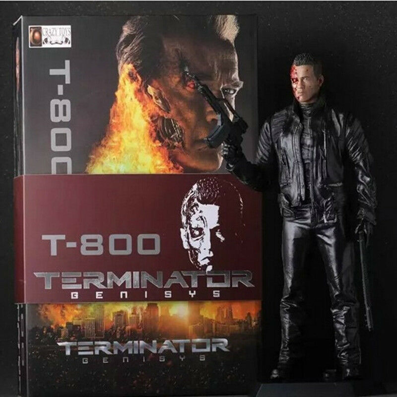 Crazy Toys The Terminator 2 T-800 Arnold blackenegger PVC Action Figure