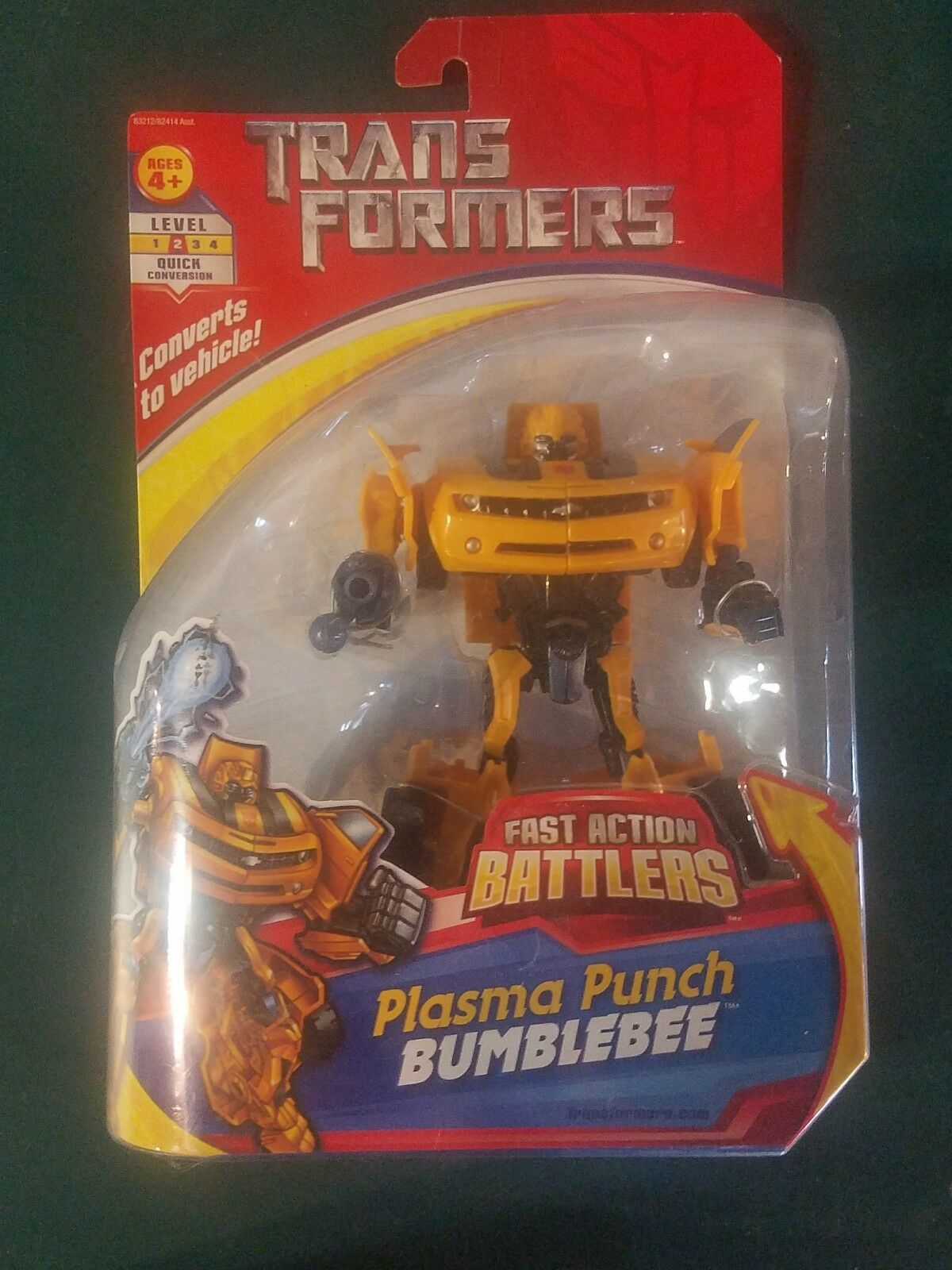 New in box Transformers Plasma Punch Bumblebee from 2007 Low Shopping