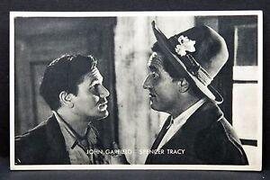 John-Garfield-Spencer-Tracy-Ak-Photo-Autogramm-Karte-Photo-Postcard-G-3202