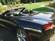 Tinted Wind Restrictor® brand wind deflector blocker for Stingray Corvette C7