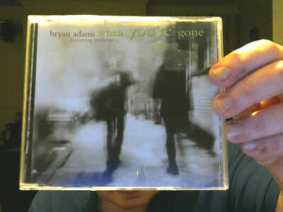 WHEN YOU'RE GONE CD SINGLE BRYAN ADAMS WITH MEL C GREAT GIFT!  FREE UK POST