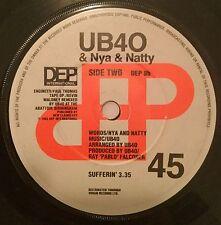 "UB40 Please Don't Make Me Cry / Sufferin' UK 7"" DEP 1983"