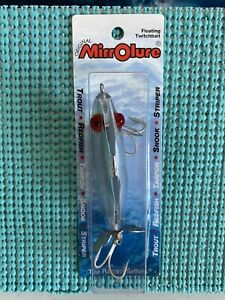 MIRROLURE 3 Inch Floating Twitchbait Fishing Lure