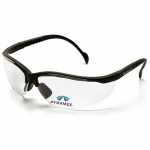 Pyramex-V2-Reader-Bifocal-Safety-Glasses-with-Black-Frame-and-Clear-Lens