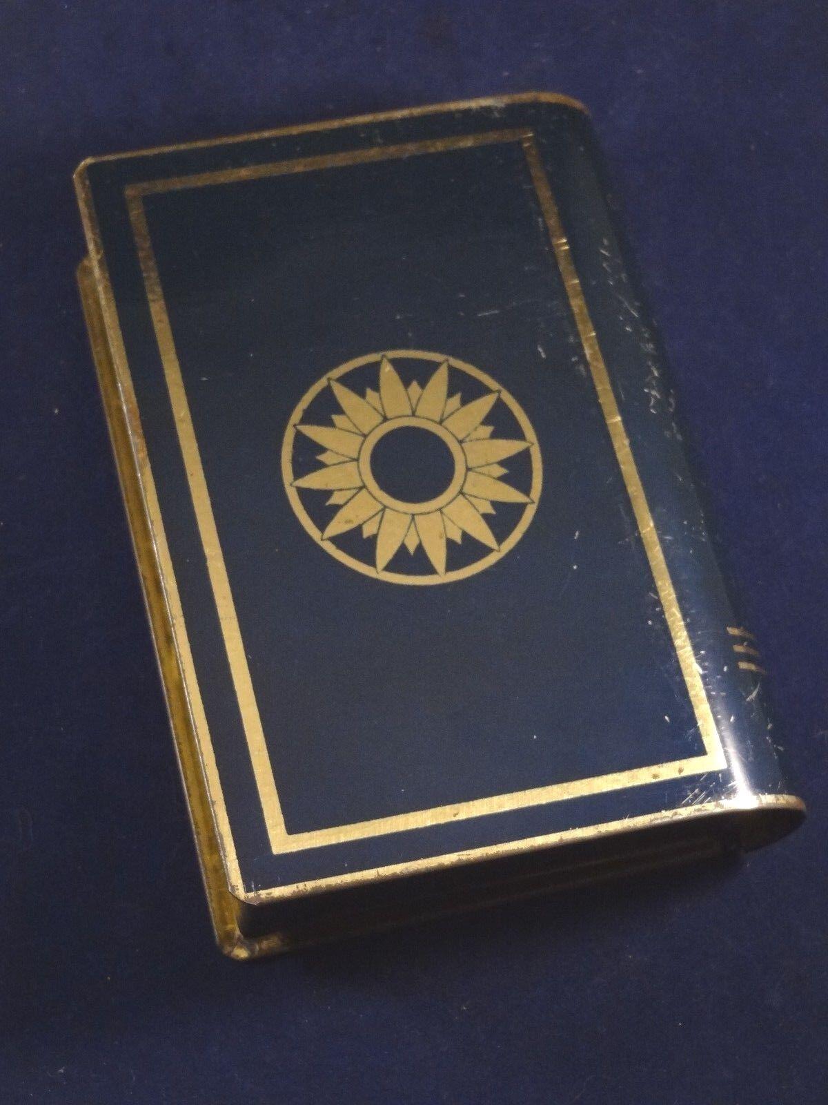 Ancienne boîte tirelire livre Le petit Chaperon Rouge conte Tôle Tôle Tôle litho 1930 3b845c