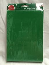 Card Making Kit- Green Blank Cards