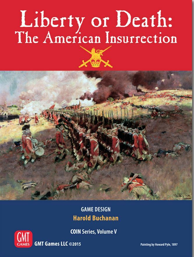 Liberty or Death  The American Insurrection by GMT Games - NEW