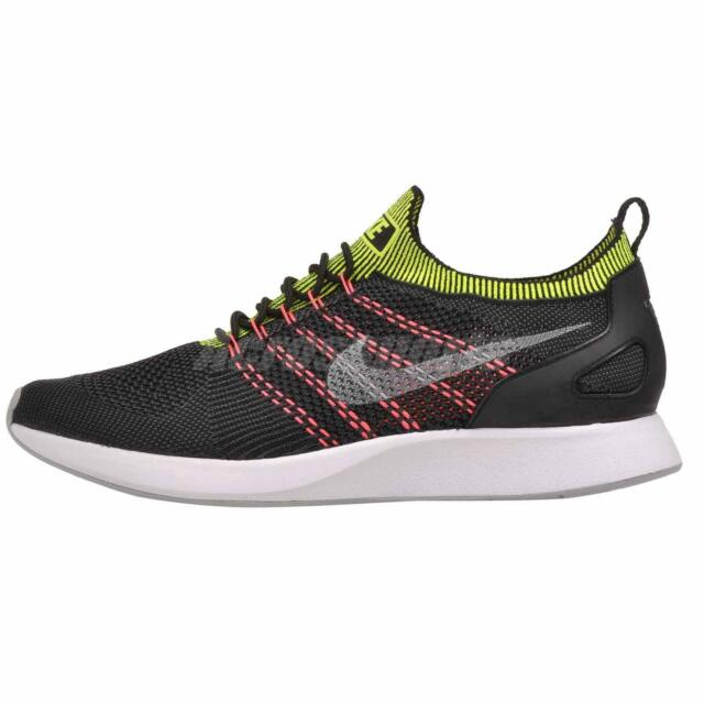 Nike Air Zoom Mariah Flyknit Racer Black Size 11.5 US Mens Athletic Running Shoe