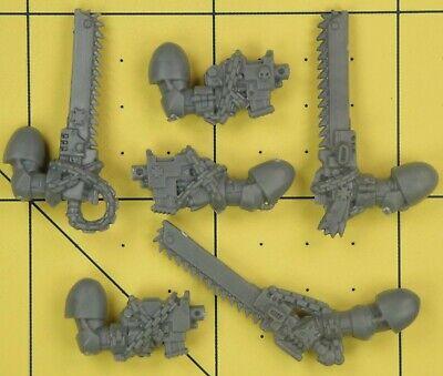 warhammer 40k berzerker 5 chainswords /& 5 pistols TZAANGOR UPGRADE PACK