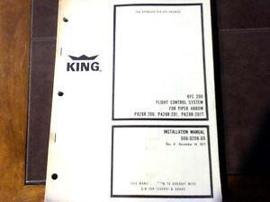 kfc 200 in pa 28 arrow install check adjust manual ebay rh ebay ie Bendix King KFC 200 Auto Pilot KFC 200 Auto Pilot Installation Manual