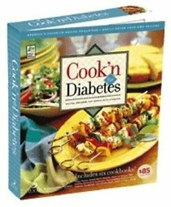 Cook-039-n-for-Diabetes-Recipes-from-the-American-Diabetes-Association-NEW-Sealed