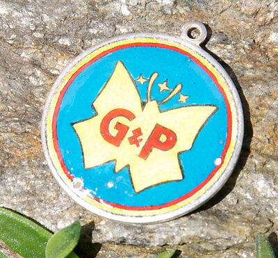 Car Badges Earnest Vintage Keychains Pendant Badge # G&p Unknown Brand! Automobilia