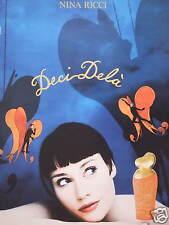 PUBLICITÉ 1995 LE PARFUM DE NINA RICCI DECI-DELÀ - ADVERTISING