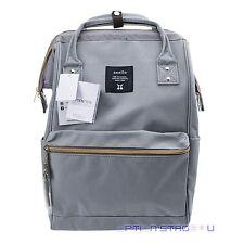 Anello Official Grey Japan Unisex Fashion Backpack Rucksack Diaper Travel Bag