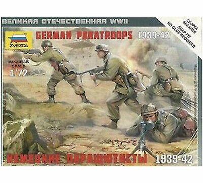 Zvezda - German Paratroopers 1939-1942 - 1:72 - 6136 Per Produrre Un Effetto Verso Una Visione Chiara