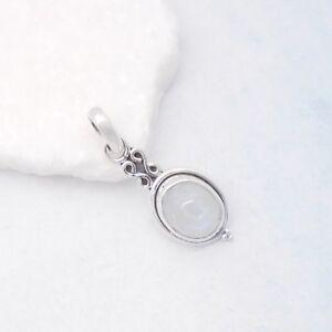 Mondstein-weiss-blau-oval-Nostalgie-Design-Amulett-Anhaenger-925-Sterling-Silber
