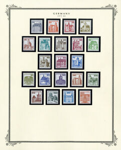 Germany-Mint-Stamp-Variety-Collection